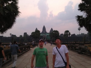 Morning Hike at Angkor Wat Talk Travel Asia Podcast